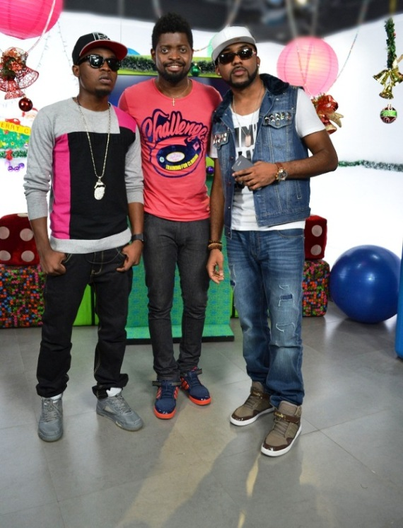 Olamide, Basketmouth and Banky W