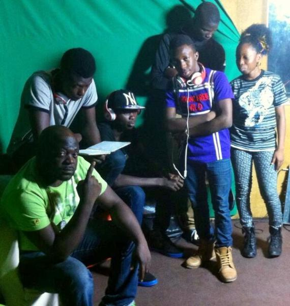NSC Contestants in studio
