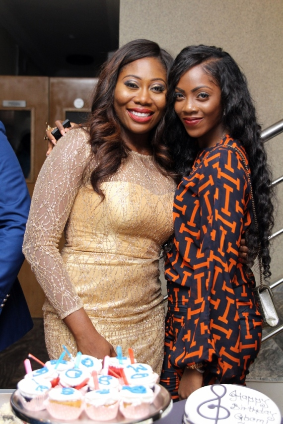 Gbemi and Tiwa Savage