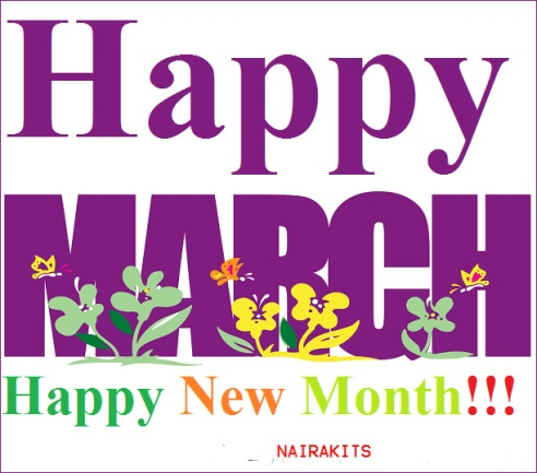 Greetings happy new month fujipop online magazine image result for happy new month of march m4hsunfo